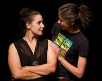 Kristen Zaza & Courtney Ch'ng Lancaster. Photo by Robert Harding.