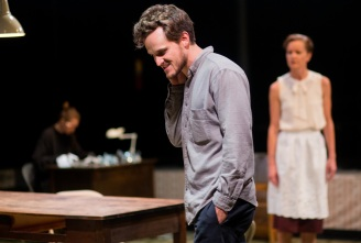 """The Glass Menagerie"". Photo of Hannah Spear, James Graham and Tracey Hoyt by Yannick Anton"